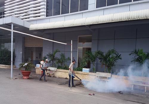 Biện pháp phun thuốc phòng chống muỗi