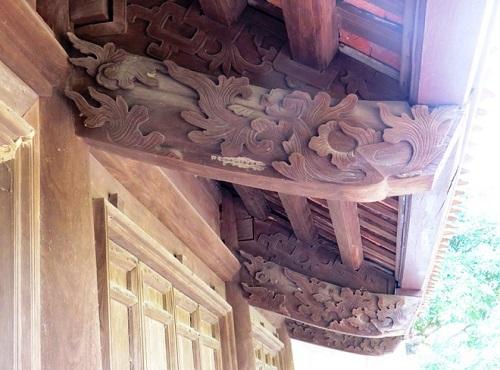 Công trình nhà cổ đang tu sửa